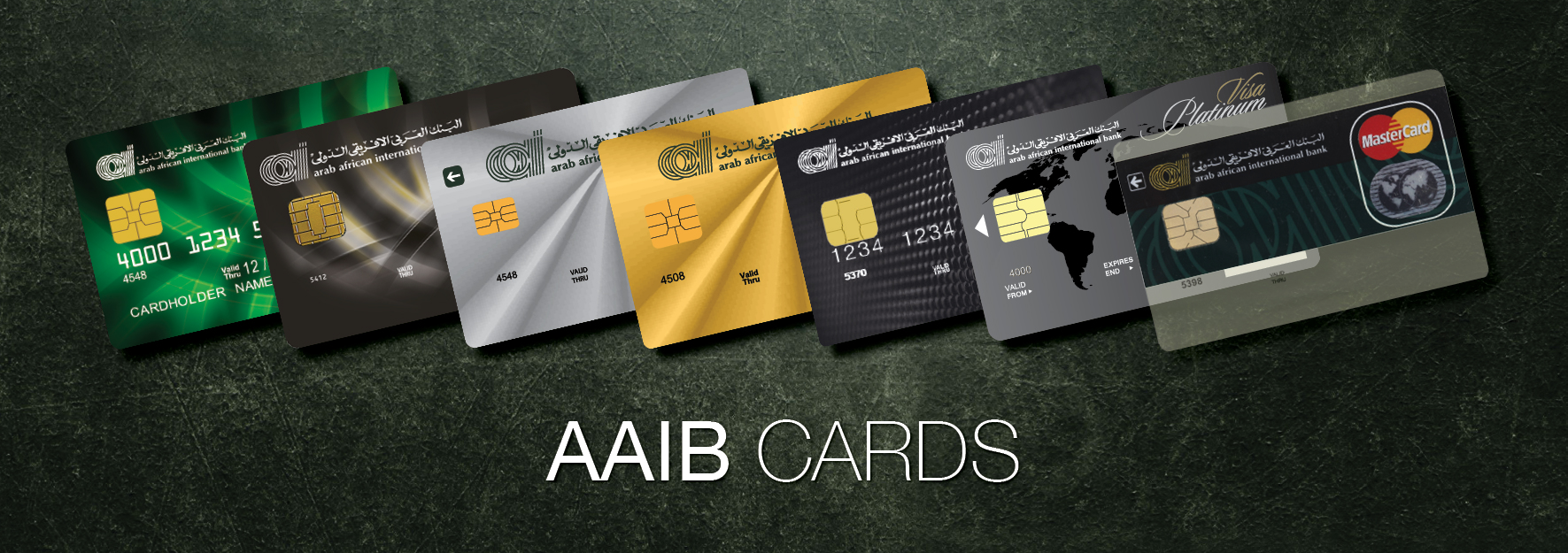 Arab African International Bank - Cardholder Offers